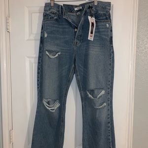 Forever 21 distressed jeans